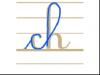 Ecrire les lettres ch en minuscule attachée