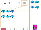 Jeux mathématiques en ligne sur les compléments à 10