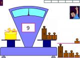 Jeux educatifs pour apprendre à utiliser une balance