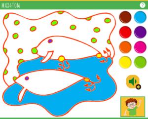 Apprendre les couleurs en anglais - 1