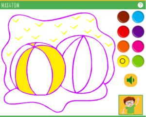 Apprendre les couleurs en anglais - 3