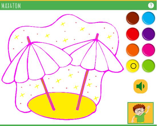 Apprendre les couleurs en anglais - 4