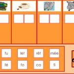 Fabrique les mots avec les syllabes