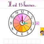 Jeu en ligne pour apprendre à lire l'heure