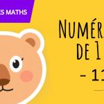 Fiche de numération à imprimer pour apprendre à compter jusqu'à 8