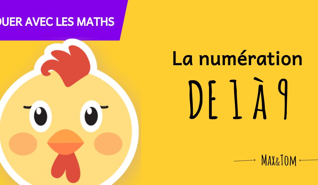 Jeux en ligne pour apprendre à compter jusqu'à 9