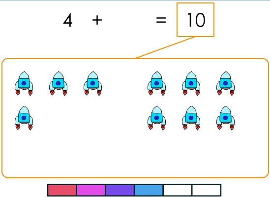 Exercice pour apprendre les compléments à 10