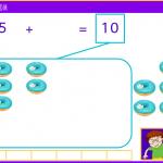 Comprendre les compléments à 10 - CP - 6