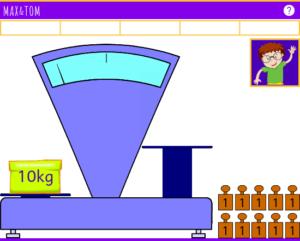 Exercice de Pesées en ligne de 1 à 10 kg - 1