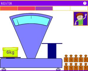 Apprendre à utiliser une balance - Pesées en ligne de 1 à 6 kg - 1