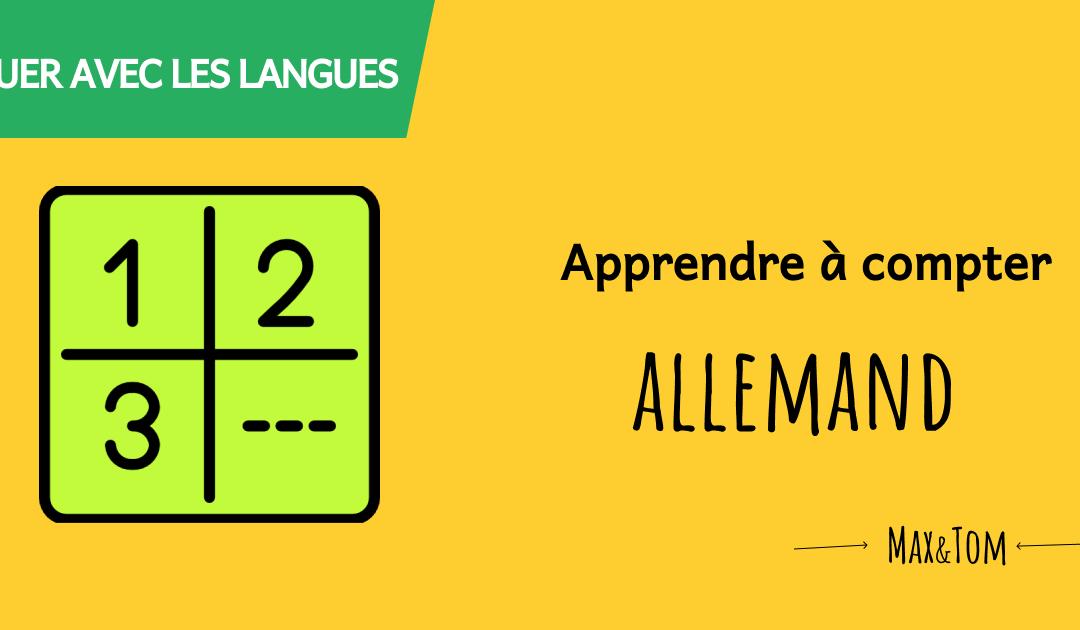 Jeux en ligne pour apprendre à compter en allemand